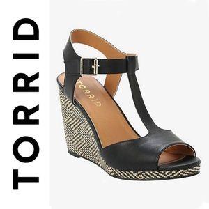 Torrid Woven Wedge Sandals